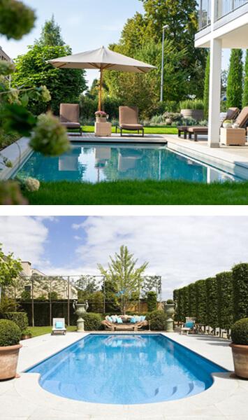 venkovní zahradní bazény s filtrací