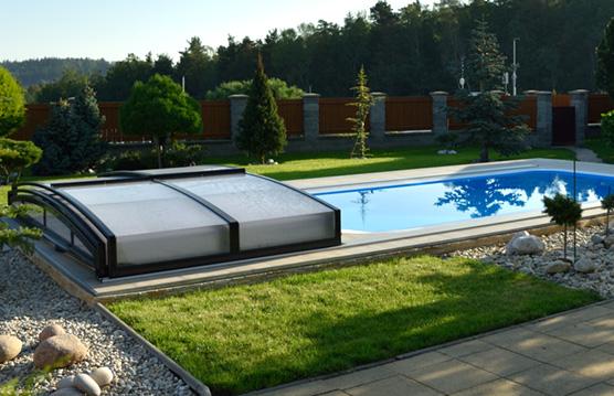 Venkovní bazén do země