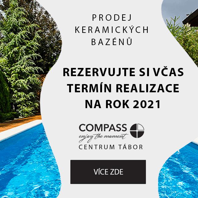 Prodej bazénů Compass 2021 od SPB Servisní