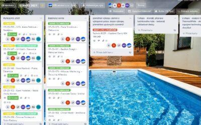 Elektronický stavební deník – aplikace Trello