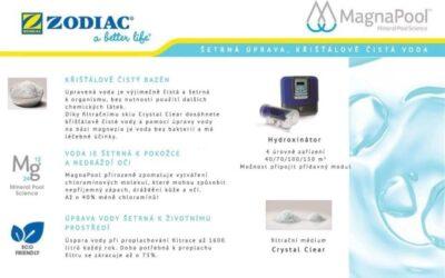 MagnaPool ® – výjimečně šetrná úprava vody v bazénu
